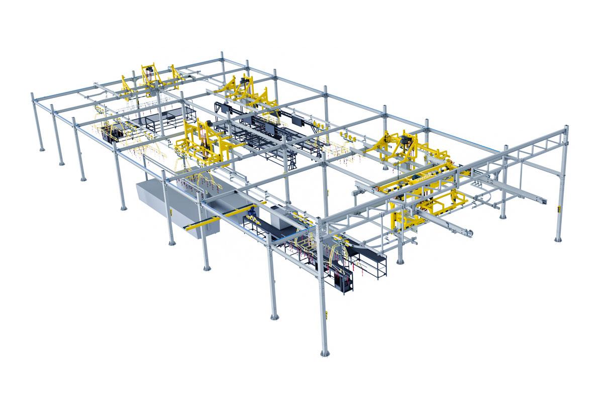 Harness-Overhead-Large-Logistics-Conveyor-System