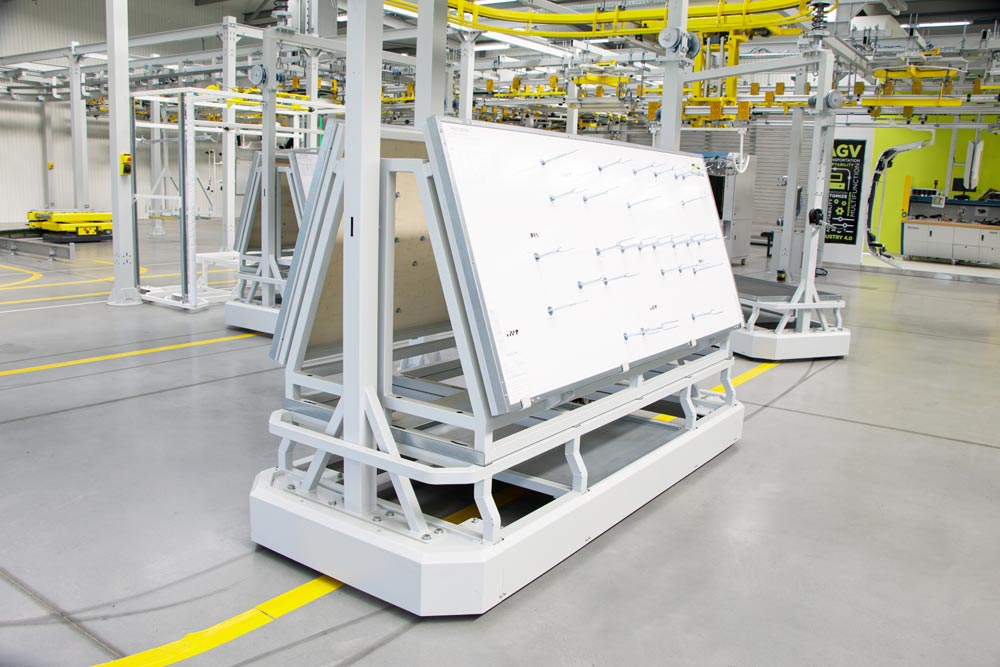 Overhang Assembly Line Automated Electrified Monorail System (EMS)